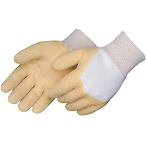 Liberty Glove Natural rubber coated - knit wrist #2303