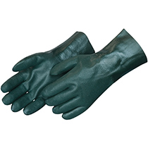 Liberty Glove Sandy finish green PVC - #2733