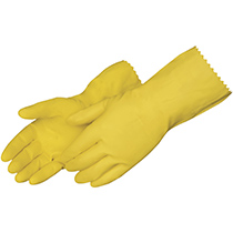Liberty Glove Yellow Latex household - #2870SL