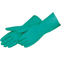 Liberty Glove BLue latex canners - crinkle finish - #2970SL
