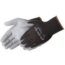 Liberty Glove P-Grip® Grey polyurethane - black shell - #4638