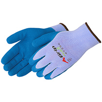 Liberty Glove A-Grip® Textured blue latex palm coated - #4729G