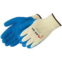Liberty Glove A-Grip® Textured blue latex palm coated - #4729