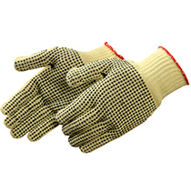 Liberty Glove 100% Kevlar® Knit with PVC Dots - #4815