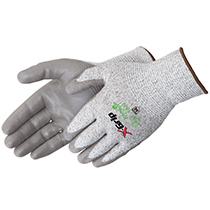 Liberty Glove X-Grip® Gray Polyurethane Palm Coated - Long Cuff - #A4940