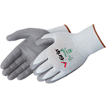 Liberty Glove V-Grip® Grey Polyurethane Palm Coated - #4941