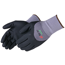Liberty Glove G-Grip Nitrile Micro-Foam 3/4 Back Coated - #F4601