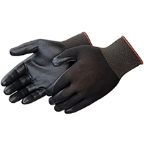 Liberty Glove Q-Grip® Black foam nitrile