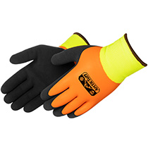 Liberty Glove Arctic Tuff™ Orange Foam Latex Thermal Shell with Lining (Lime Green) - #F4783HV