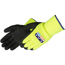 Liberty Glove Ultra X-Grip® Gray micro-foam nitrile palm coated with dots - #F4789LG
