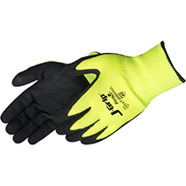 Liberty Glove J-Grip® Black sandy nitrile palm coated - #F4990HG