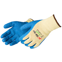 Liberty Glove Aramid/ Premium textured blue Latex palm coated - #KV4729