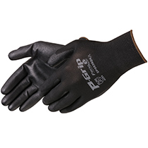 Liberty Glove Rough finish black neoprene supported glove - #SP4638BK