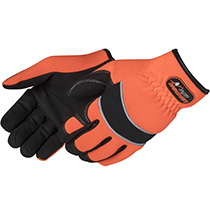 Liberty Glove Lightning Gear® CrimsonWarrior™ Mechanic Glove #0906HO