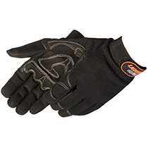 Lightning Gear® CrimsonWarrior™ Hi-Vis mechanic glove #0915Q/BK