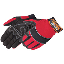 Liberty Glove Lightning Gear® CrimsonWarrior™ mechanic glove #0915