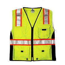 ML Kishigo BLACK SERIES Heavy Duty Class 2 Vest Lime X-Large  #1513