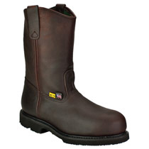 "Thorogood Men's 10"" Steel Toe Wellington Metguard Work Boot #804-4841"