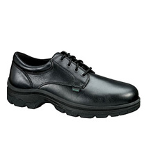 "Thorogood 6"" Black Lace-To-Toe Semi-Oblique - Safety Toe  #804-4080"